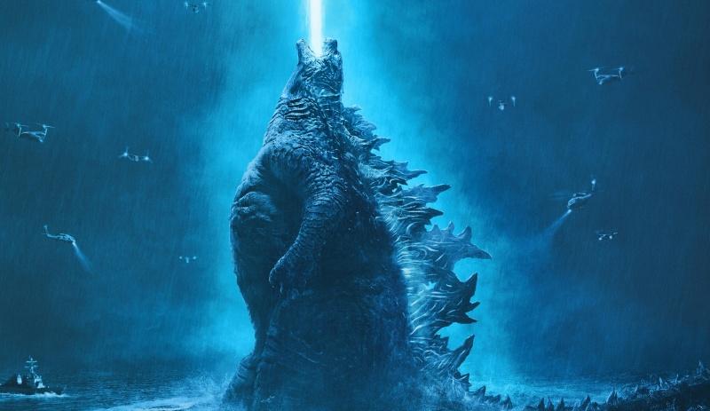 """Oficjalny poster - fragment z filmu """"Godzilla: Król potworów"""" (źródło: materiały prasowe)"""