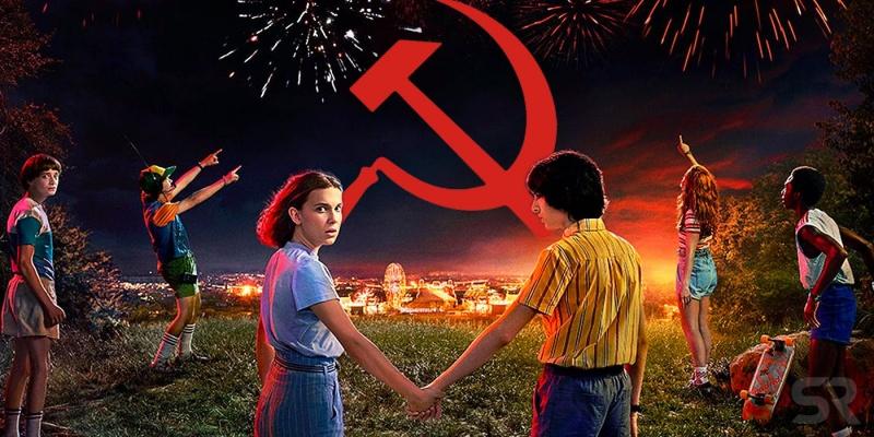 """Poster z serialu """"Stranger Things 3"""" (źródło: materiały prasowe)"""