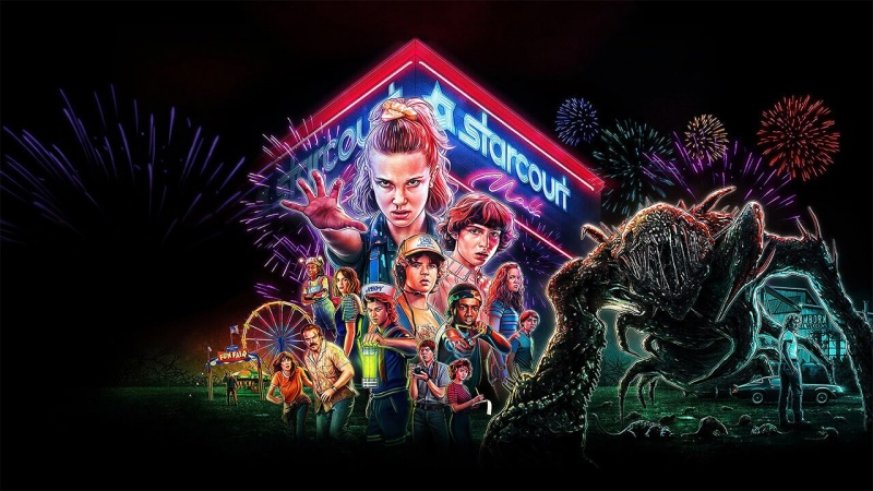 """Oficjalny poster z serialu """"Stranger Things 3"""" (źródło: materiały prasowe)"""