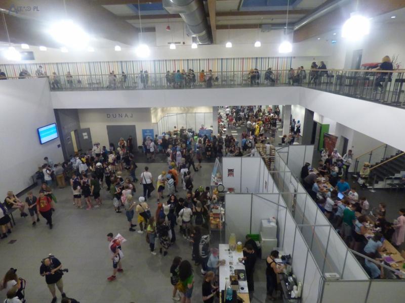 W środku też tłumy (fot. Małgosia Morawska)
