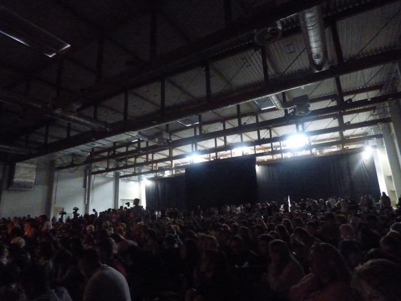 Tak jakby was ciekawiło, jak wielu ludzi przyszło zobaczyć musical  (w sumie ciekawe jak z nerwami radziły sobie osoby na scenie)