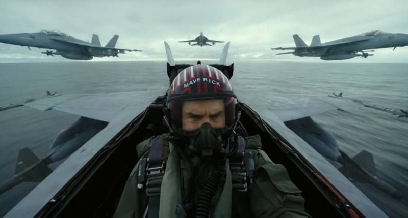 "Kadr z filmu ""Top Gun: Maverick"" (źródło: youtube.com)"