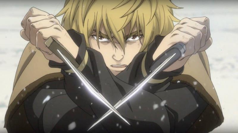 "Kadr z serialu anime ""Vinland Saga"" (źródło: Wit Studio)  Wit Studio"