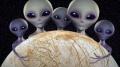 """Tajna baza Obcych na Europie – pewien ufolog ma """"dowody""""! - Europa;Jowisz;księżyc;obcy;kosmici;baza;czarne plamy;badacz;UFO;Scott C Waring;rewelacje;wyobraźnia;dokowanie;tunele;ocean;życie pozaziemskie;sonda;misja;Clipper"""