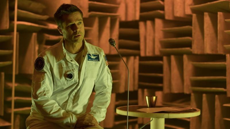 """Kadr z filmu """"Ad Astra"""" (źródło: materiały prasowe)"""