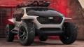 """Czy to auto z """"Mad Maxa"""", a może łazik marsjański? Nie. To Audi AI: Trail Quattro! - AI: Trail Quattro;Audi;terenowy;trail;koncepcyjny;elektryczny;wizjonerski;drony;funkcje;obszar;zasięg;Mad Max;łazik marsjański;targi;Frankfurt"""
