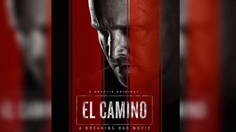 """""""El Camino: Film Breaking Bad"""" - oficjalny poster (źródło: materiały prasowe/Netflix)"""