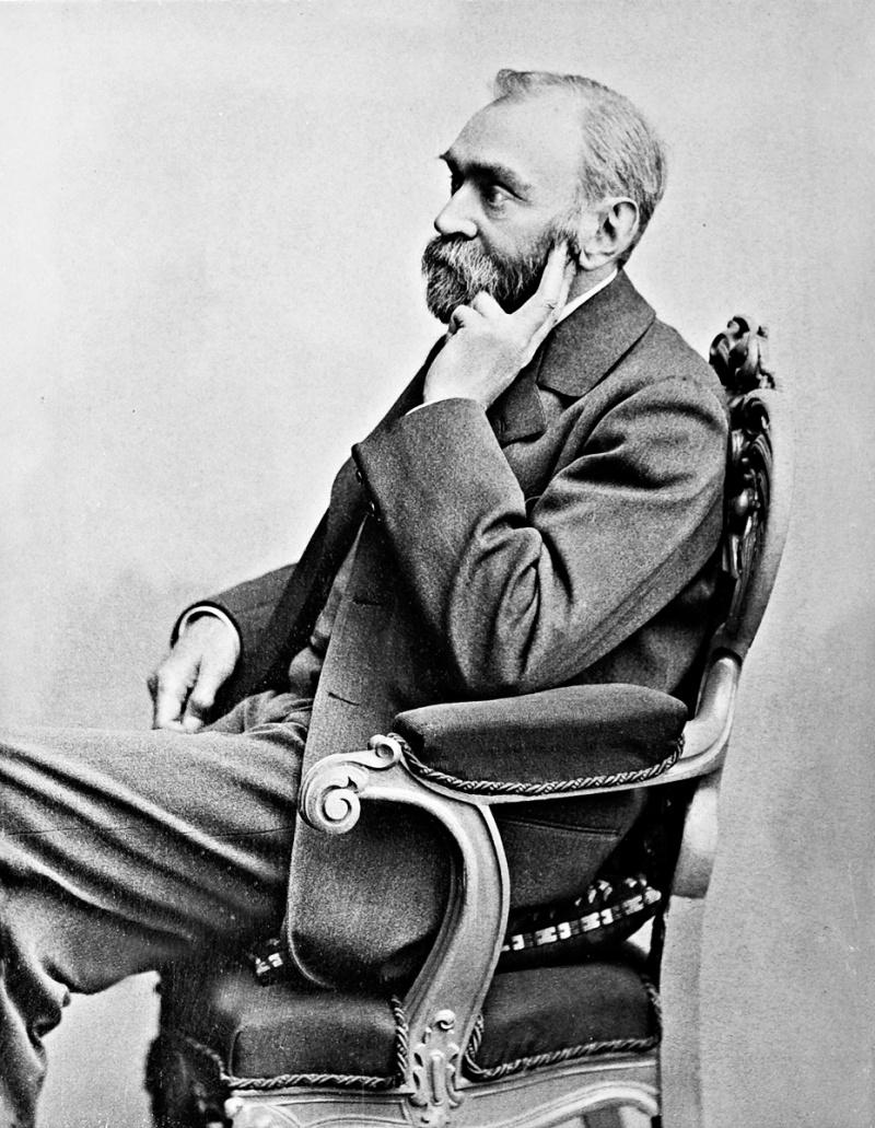 Alfred Nobel (źródło: wikimedia.org)