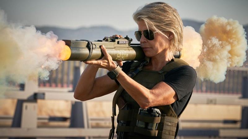 """Kadr z filmu """"Terminator: Mroczne przeznaczenie"""" (źródło: materiały prasowe)"""