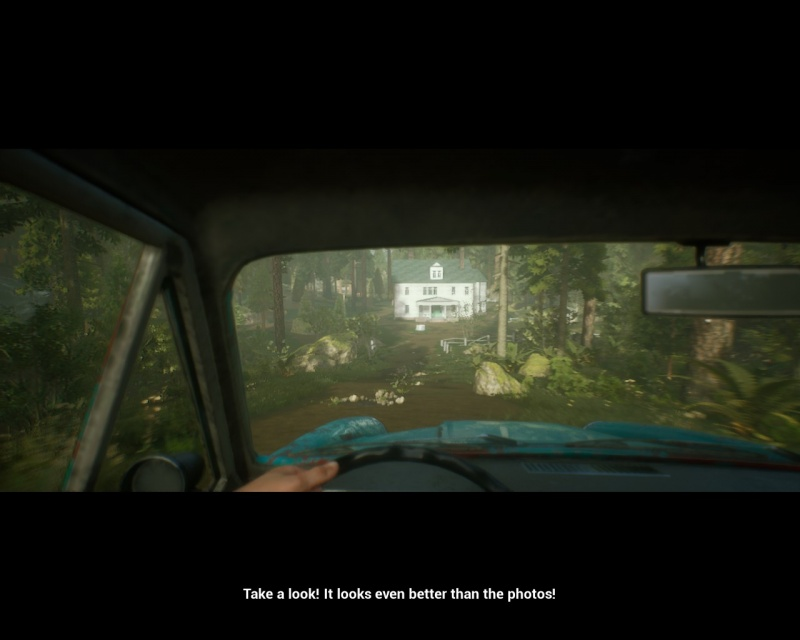"""Screen z gry """"The Beast Inside"""" (źródło: rozgrywka własna)"""