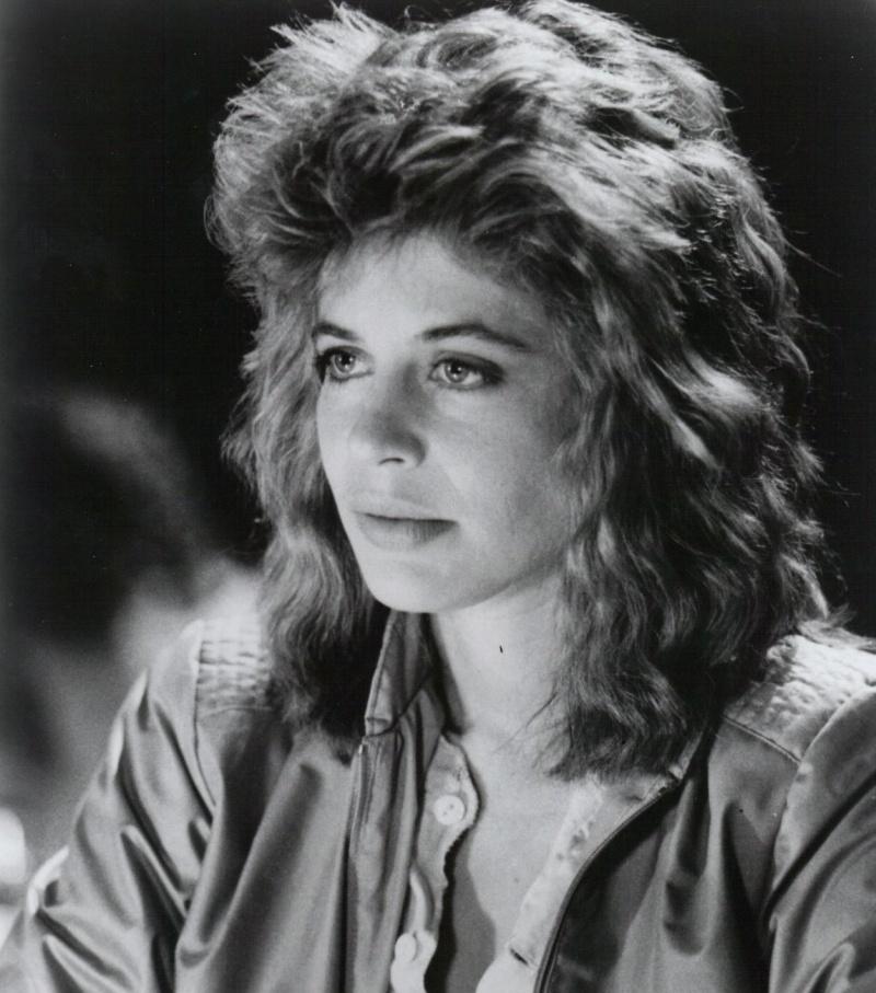 "Linda Hamilton jako Sarah Connor w ""Terminatorze"""