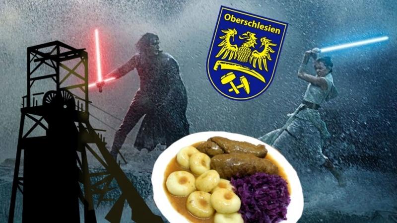 """Star Wars"" po śląsku (fot. www.facebook.com/NiklausPieron)"