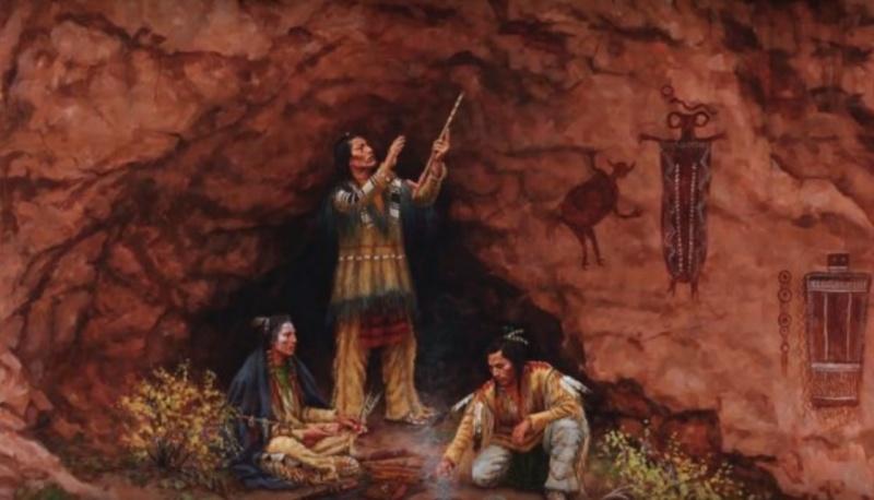 Tajemniczy Indianie Anasazi (zdjęcie ilustracyjne/Youtube/Łukasz Kulak)