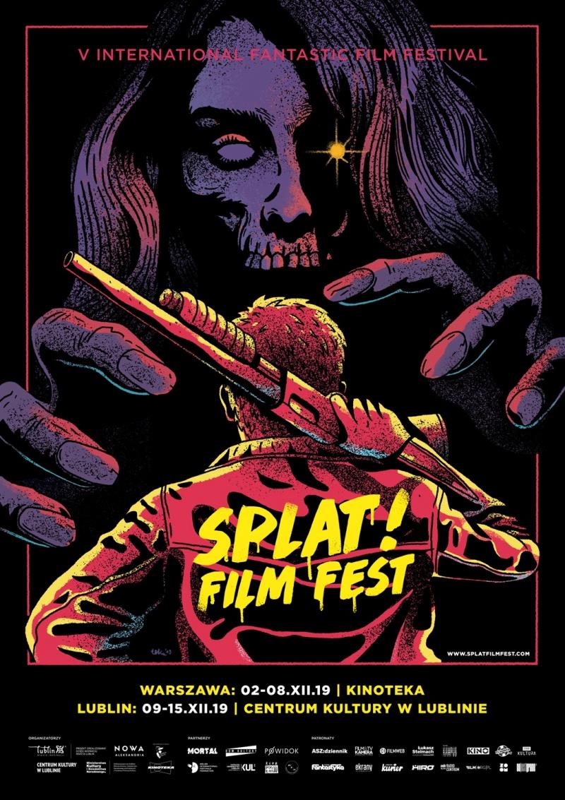 Oficjalny plakat festiwalu (źródło: materiały organizatora Splat!FilmFest)