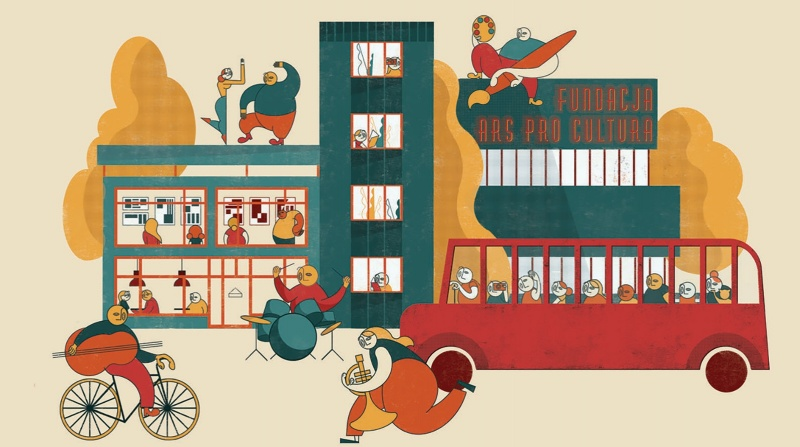 Ars Proc Cultura - oficjalna grafika (autor: Paulina Adamowska)