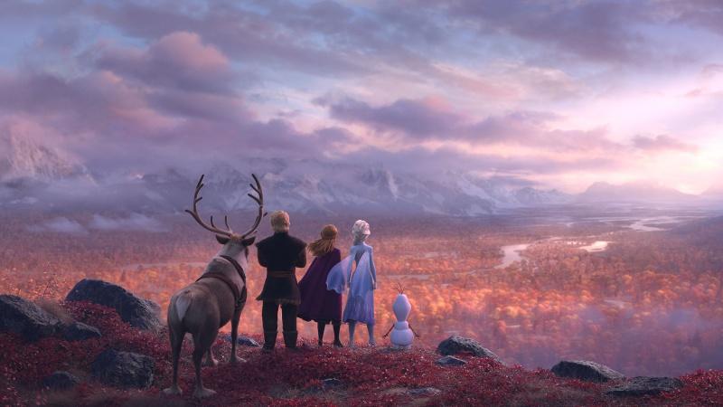 """Kadr z filmu """"Kraina lodu 2"""" (źródło: materiały prasowe)"""