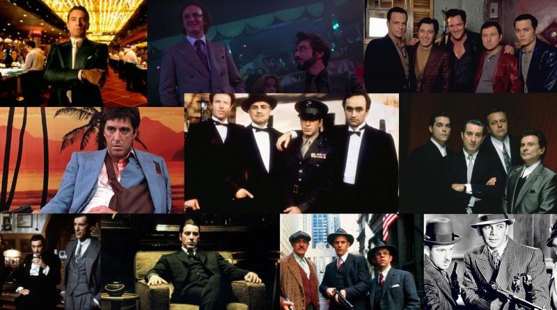 Kadry z filmów gangsterskich (źródło: materiały prasowe)