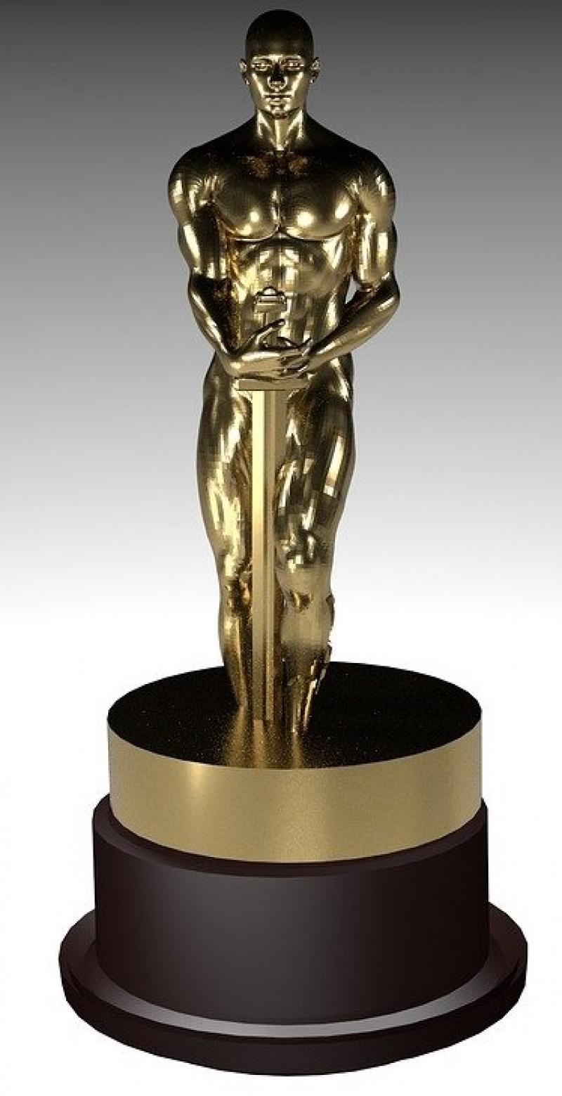 Oscar (pixabay.com/illustrations/oscar-oscars-award-studio-show-2103653)