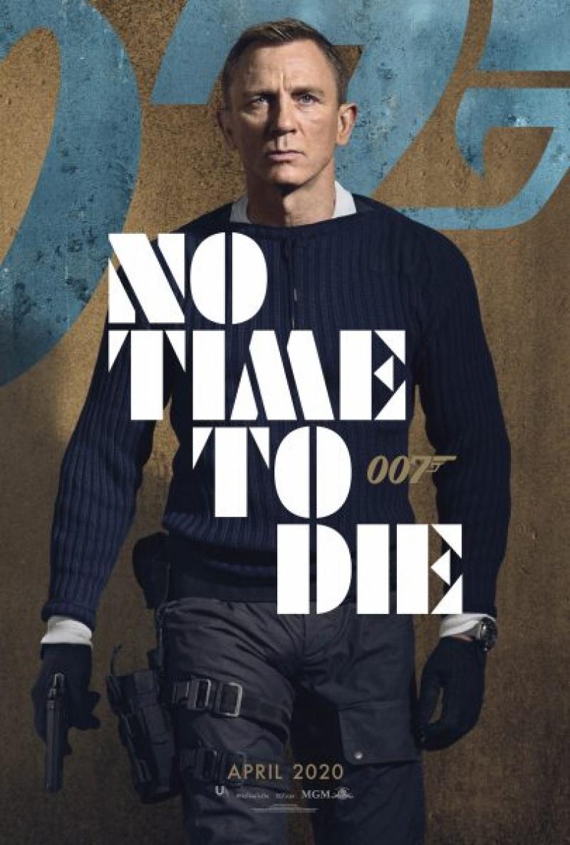 """Oficjalny plakat """"Nie czas umierać"""" (źródło: materiały prasowe)"""
