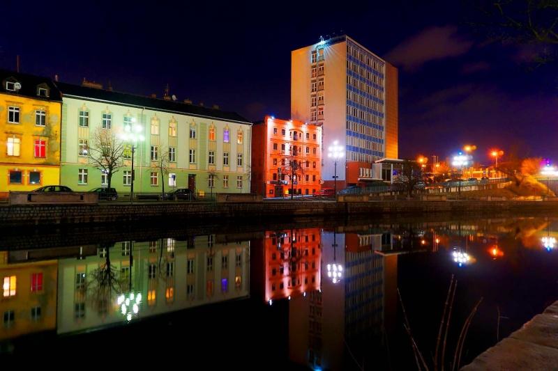 Bydgoszcz nocą (fot. Grafy w podróży)