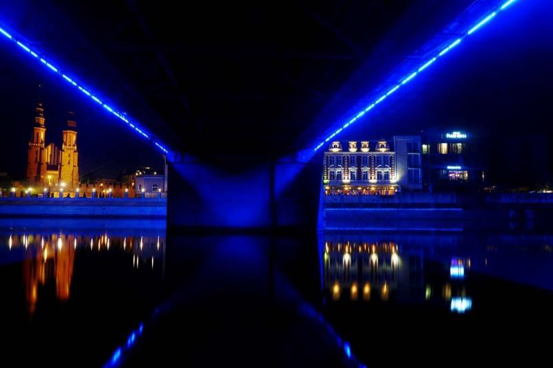 Opole nocą (fot. Grafy w podróży)