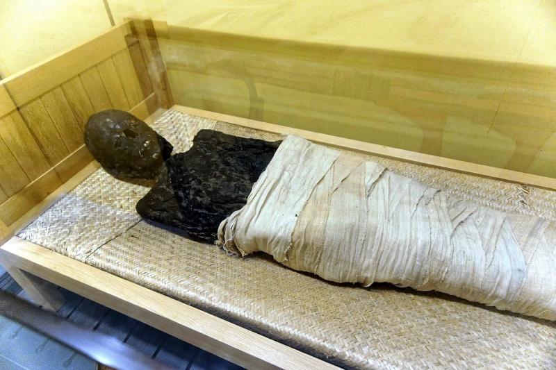 Mumia egipska w Raciborzu (fot. Grafy w podróży)