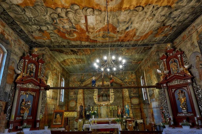 Słopanowo - Kościół drewniany (fot. Grafy w podróży)