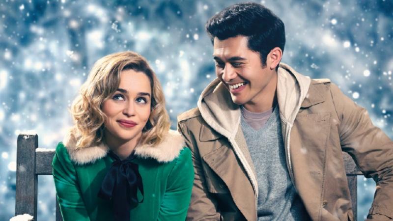 """Fragment oficjalnego plakatu do filmu """"Last Christmas"""" (źródło: materiały prasowe)"""