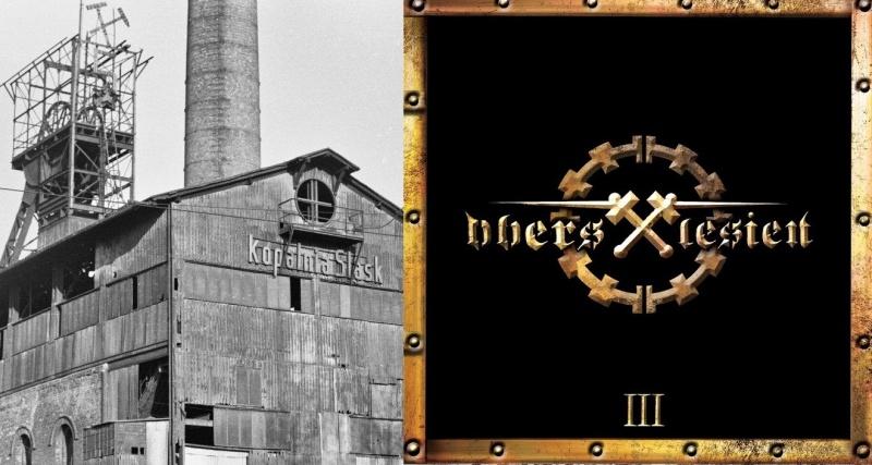 """Tło (źródło: wikimedia.org); Okładka albumu pt. """"III"""" zespołu Oberschlesien (źródło: youtube.com)"""