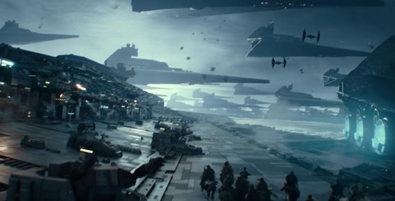 """Kadr z filmu """"Gwiezdne wojny: Skywalker. Odrodzenie"""" (źródło: youtube.com)"""