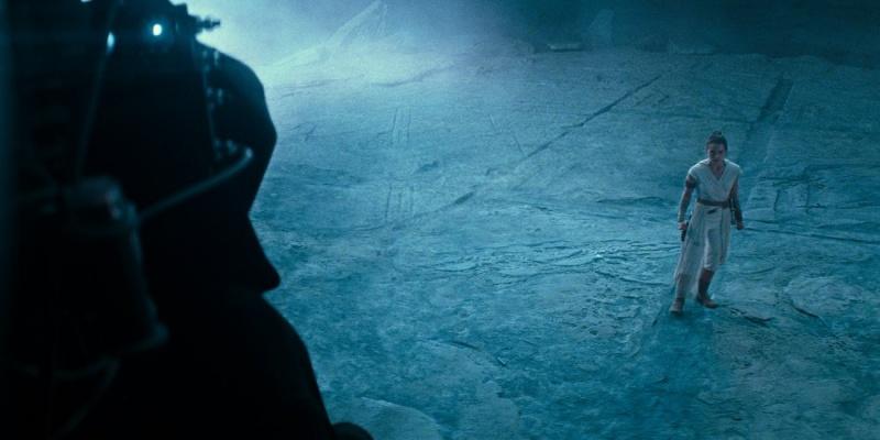 """Kadr z filmu """"Gwiezdne wojny: Skywalker. Odrodzenie"""" (źródło: materiały prasowe)"""