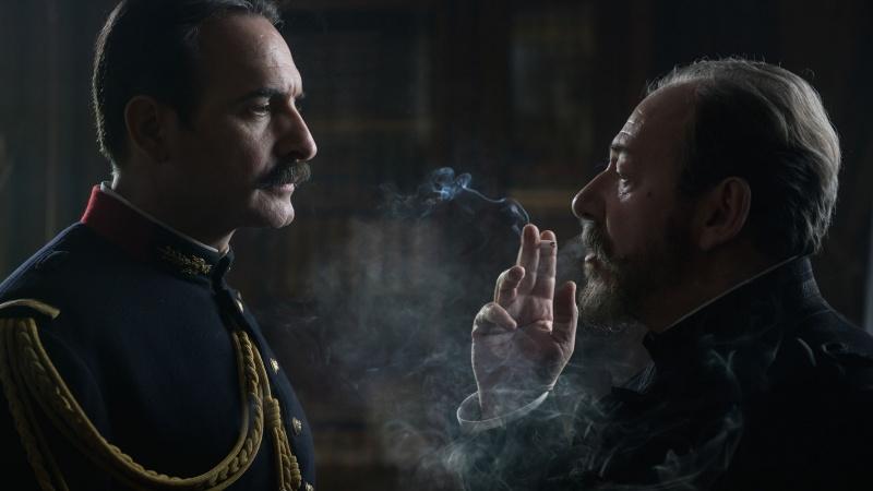 """Kadr z filmu """"Oficer i szpieg"""" (źródło: materiały prasowe)"""