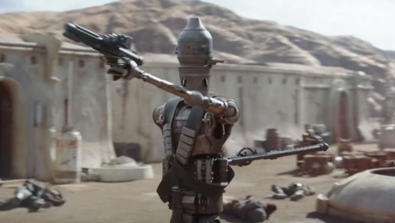 "Kadr z serialu ""The Mandalorian"" (źródło: youtube.com)"