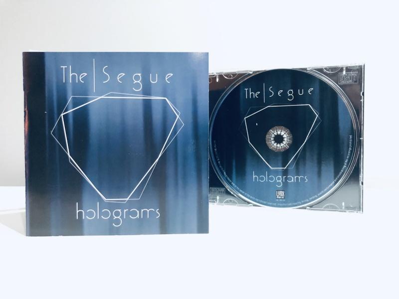 """Okładka i album """"Holograms"""" (źródło: theseguemusic.bandcamp.com)"""