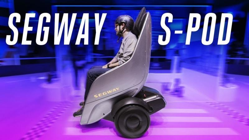 Segway S-Pod (źródło: youtube.com/Verge)