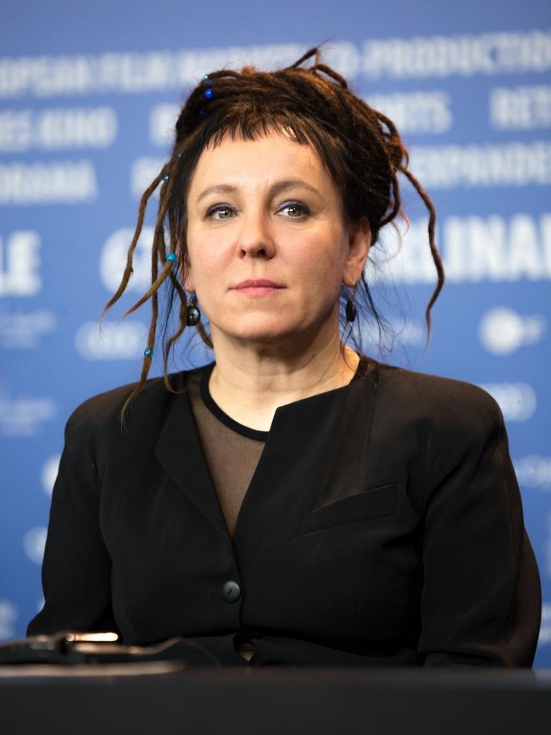 Olga Tokarczuk (wikimedia.org/fot. Martin Kraft)
