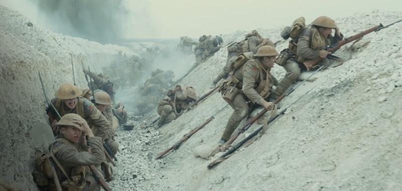 """Kadr z filmu """"1917"""" (źródło: materiały prasowe)"""