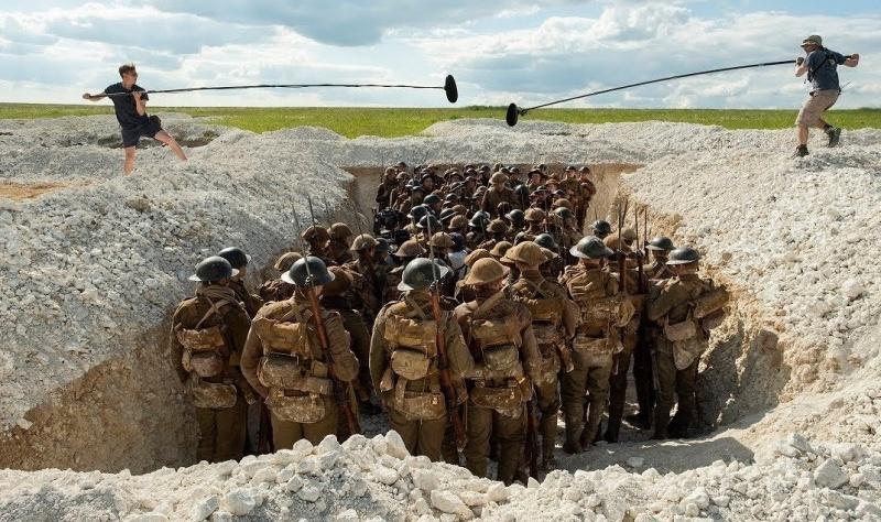 """Na planie """"1917"""" (źródło: materiały prasowe)"""