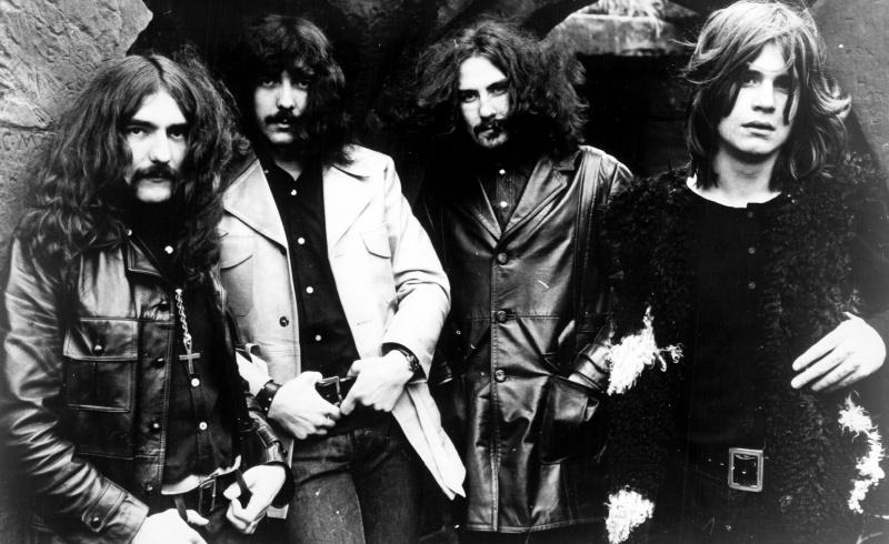 Zespół Black Sabbath - od lewej Geezer Butler, Tony Iommi, Bill Ward i Ozzy Osbourne (źródło: wikimedia.org)