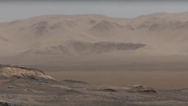 """Powierzchnia Marsa widziana """"oczyma"""" łazika (źródło: www.jpl.nasa.gov)"""
