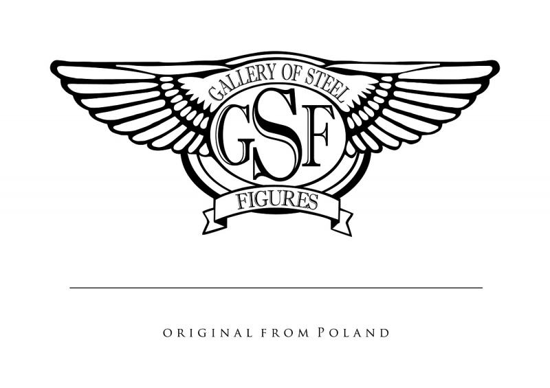 Oficjalne logo Galerii Figur Stalowych (materiały promocyjne GSF)