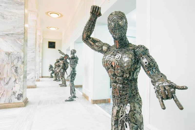 Galeria Figur Stalowych w Pałacu Kultury i Nauki (fot. materiały promocyjne GSF)