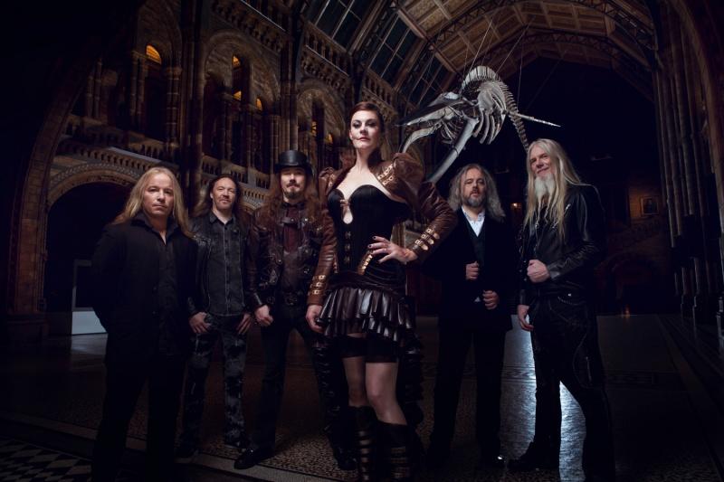Zespół Nightwish w obecnym składzie (źródło www.nightwish.com)