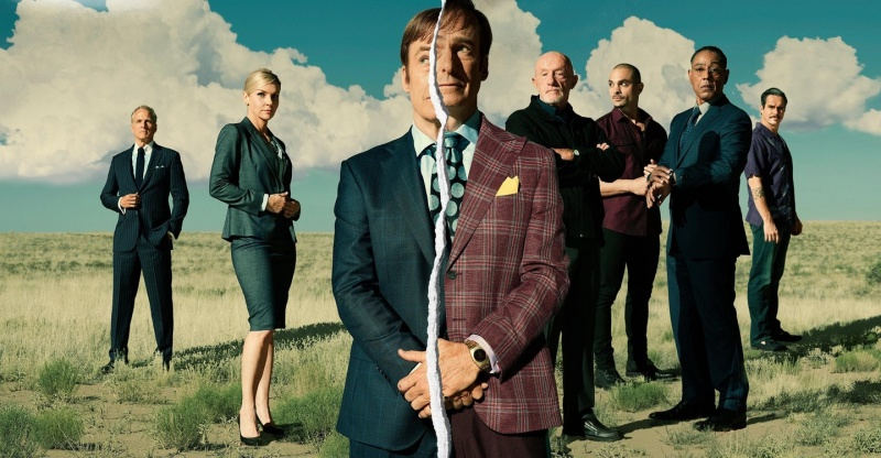 """Poster z serialu """"Better Call Saul: sezon 5"""" (źródło: materiały prasowe)"""