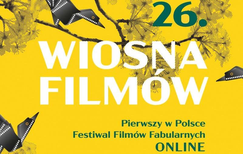Fragment oficjalnego plakatu Wiosny Filmów (źródło: materiały promocyjne)