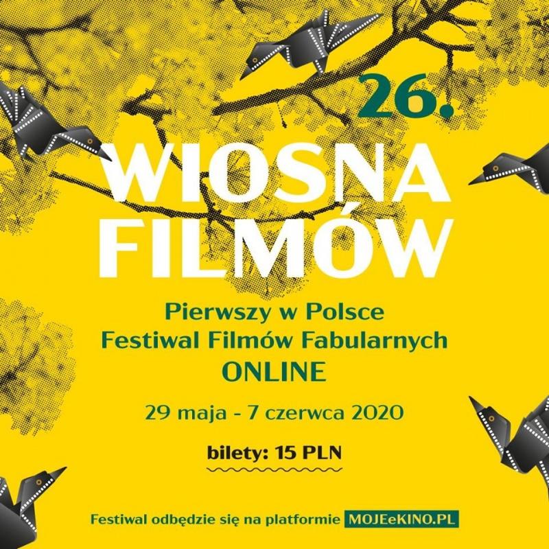 Oficjalny plakat Wiosny Filmów (źródło: materiały promocyjne)