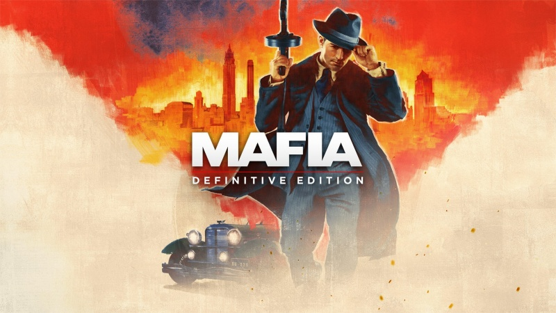 """Oficjalny poster i okładka do gry """"Mafia: Edycja Ostateczna"""" (źródło: materiały promocyjne)"""