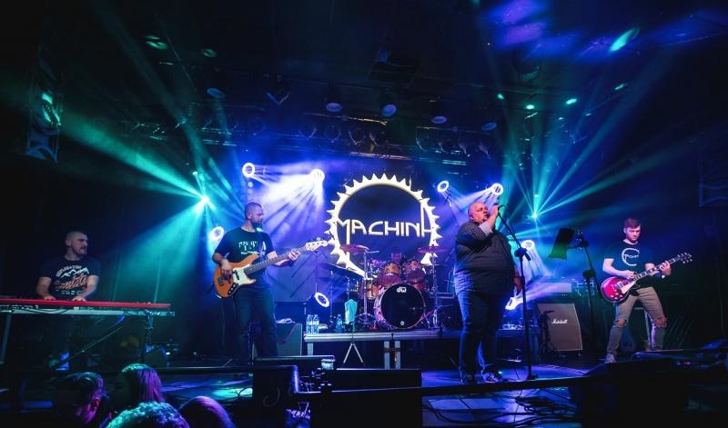 Machina w trakcie koncertu (fot. materiały promocyjne)