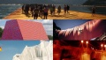 """84-letni Christo opakuje teraz """"boski tron"""". Zobaczcie niezwykłe prace! - Christo;land art;sztuka;artysta;śmierć;84 lata;opakowywanie;przedmioty;obiekty;płachty;projekty;spektakularne;Bułgaria;Gabrowo;Christo Jawaszew;wyobraźnia;Mastaba;rzeźby;Reichstag;Pont Neuf;most;ralizacje;piękne"""