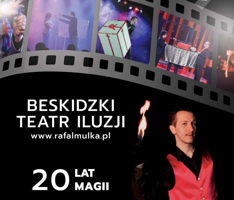 Pokazy iluzji - Rafał Mulka (źródło: archiwum prywatne) https://rafalmulka.pl